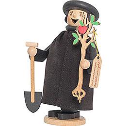 Räuchermännchen Martin Luther mit Apfelbaum  -  17cm
