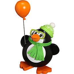 Räuchermännchen Pinguin  -  Kugelräucherfigur  -  12cm