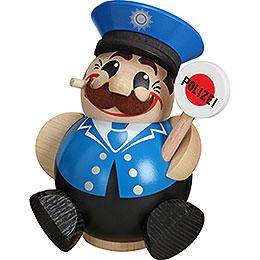 Räuchermännchen Polizist  -  Kugelräucherfigur  -  12cm