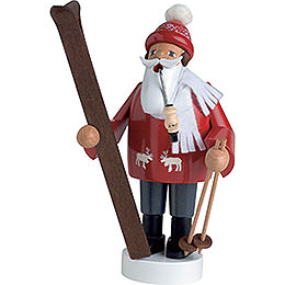 Räuchermännchen Skifahrer  -  19cm