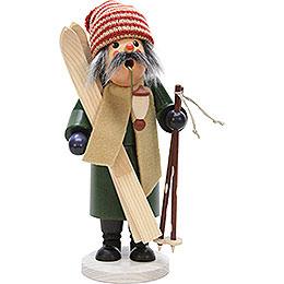 Räuchermännchen Skifahrer  -  30cm