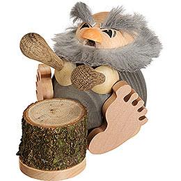 Räuchermännchen Ur - Kugler Rums  -  Kugelräucherfigur  -  8cm