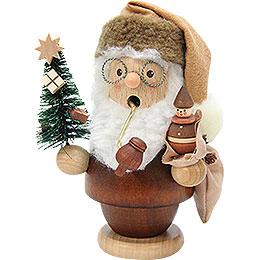 Räuchermännchen Weihnachtsmann natur  -  13cm