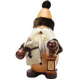 Räuchermännchen Weihnachtsmann natur  -  22cm