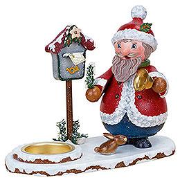 Räuchermännchen Weihnachtswichtel mit Teelicht  -  14cm
