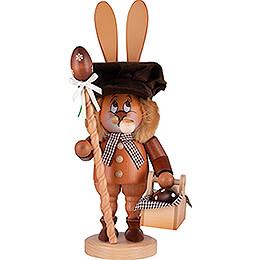 Räuchermännchen Wichtel Hase mit Eierkorb  -  36cm