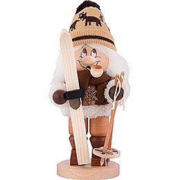 Räuchermännchen Wichtel Skifahrer  -  31cm