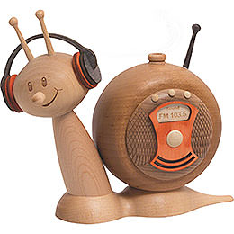 Räucherschnecke Sunny Radioschnecke  -  16cm