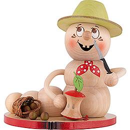 Räucherwurm Apfel Rudi  -  14cm