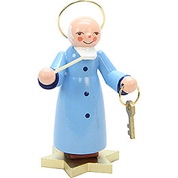 Saint Peter Blue  -  9,0cm / 4 inch