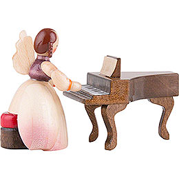 Schaarschmidt Angel with Spinet  -  4cm / 1.6 inch