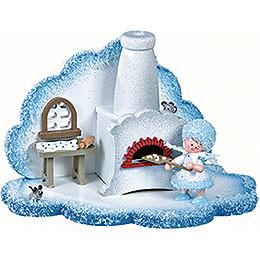 Schneeflöckchens Weihnachtsbäckerei  -  14,5x8,5x9cm