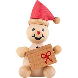 """Schneemann Junior """"Weihnachtswichtel""""  -  7cm"""