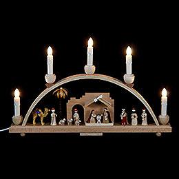 Schwibbogen Christi Geburt  -  48x28cm