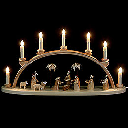 Schwibbogen Christi Geburt  -  60cm