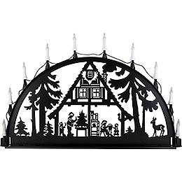 Schwibbogen für Außen Waldhaus  -  100 - 300cm