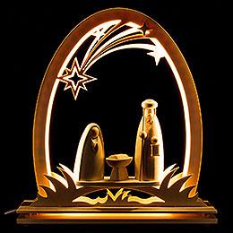 Seidel Arch Nativity  -  31x33cm / 12.2x13 inch
