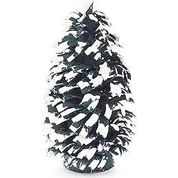 Seiffen Spruce  -  Green - White  -  6cm / 2.4 inch