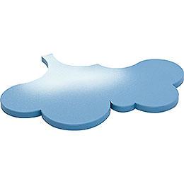 Seitenwolke für Schneeflöckchen  -  22x16cm