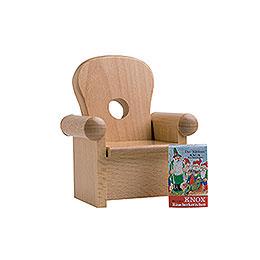 Sessel für Kantenhocker  -  16cm