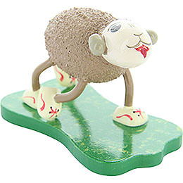 "Sheep ""Flitzi"", Running  -  4,5cm / 1.8 inch"