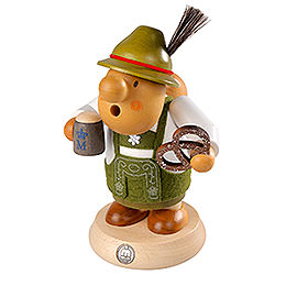Smoker  -  Bavarian with Costume  -  16cm / 6 inch