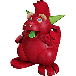 Smoker  -  Dragon Fire Dragon  -  Ball Figure  -  12cm / 4.7 inch