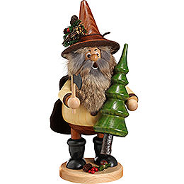 Smoker  -  Forest Gnome Tree Thief, Natural  -  25cm / 10 inch