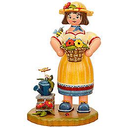 Smoker  -  Gardener Woman  -  21cm / 8 inch