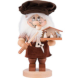 Smoker  -  Gnome Nativity Carver  -  27,5cm / 10.8 inch