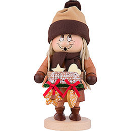 Smoker  -  Gnome Striezel Girl  -  29cm / 11 inch