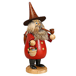 Smoker  -  Herb - Gnome Red  -  19cm / 7 inch