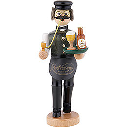 Smoker  -  Innkeeper with Radeberger Beer  -  22cm / 8.7 inch