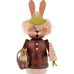 Smoker  -  Mini Gnome Bunny with Carrot  -  16,5cm / 6.5 inch