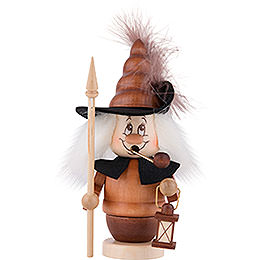 Smoker  -  Mini Gnome Nightwatchman  -  16,0cm / 6 inch