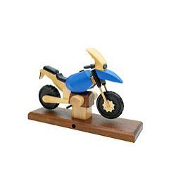 Smoker  -  Motorcycle Boxer RS Blue 27x18x8cm / 11x7x3 inch