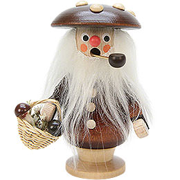 Smoker  -  Mushroomman Natural Colors  -  10,0cm / 4 inch