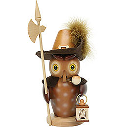Smoker  -  Nightwatch Owl Natural  -  22,0cm / 8.7 inch