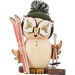 Smoker  -  Owl Skier  -  15cm / 5.9 inch