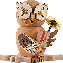 Smoker  -  Owl Well - Wisher  -  15cm / 5.9 inch