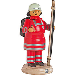 Smoker  -  Red Cross Paramedic with Stretcher  -  24cm / 9.4 inch