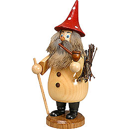 Smoker  -  Rooty - Dwarf Natural Colors  -  Hat Red  -  19cm / 7 inch