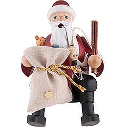 Smoker Santa Claus  -  15cm / 6 inch