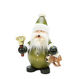 Smoker  -  Santa Claus Green  -  22cm / 9 inch