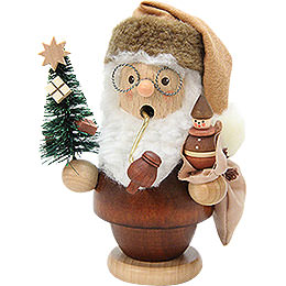Smoker  -  Santa Claus Natural  -  13cm / 5 inch