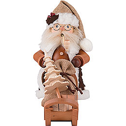 Smoker  -  Santa Claus with Sleigh  -  28,0cm / 11 inch