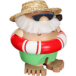 Smoker  -  Santa Incognito  -  Ball Figure  -  11cm / 5 inch