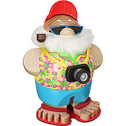Smoker  -  Santa Incognito with Camera  -  Ball Figure  -  11cm / 4.3 inch