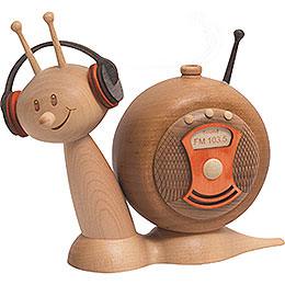 Smoker  -  Snail Sunny Radio Snail  -  16cm / 6.3 inch