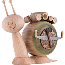 Smoker  -  Snail Sunny Wood Snail  -  16cm / 6.3 inch